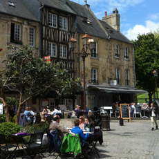 Quartier ancien de Caen, roman, polar, Mortels Ethers, Elton Furratier
